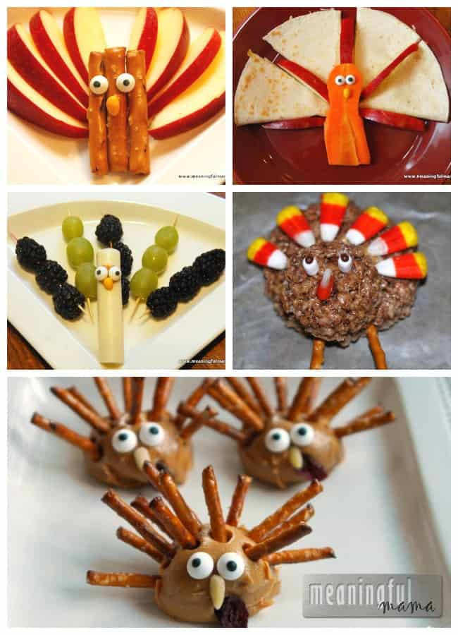 turkey snacks for kids