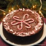 Chocolate Peppermint Ice Cream Cake
