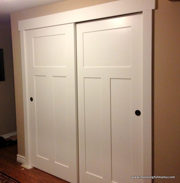 the rhodes log closet door makeover ideas help