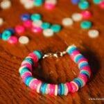 Day #347 – Plastic Perler Bead Bracelets