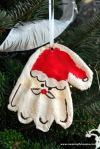 How to make salt dough Christmas Decorations   Make it and Mend it
