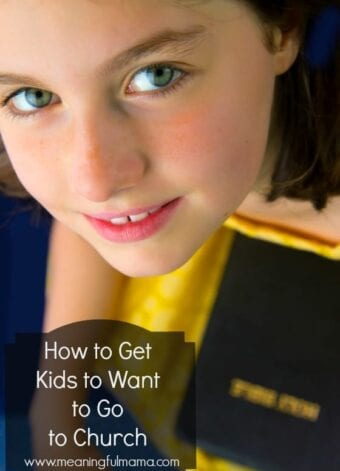 How to Get Kids to Want to Go to Church