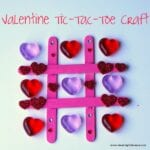 Valentine Heart Tic-Tac-Toe Craft