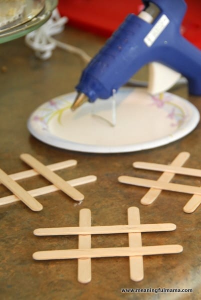 1-Valentine Tic-Tac-Toe Craft