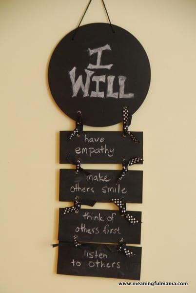 "Thoughtfulness ""I Will"" Statements"
