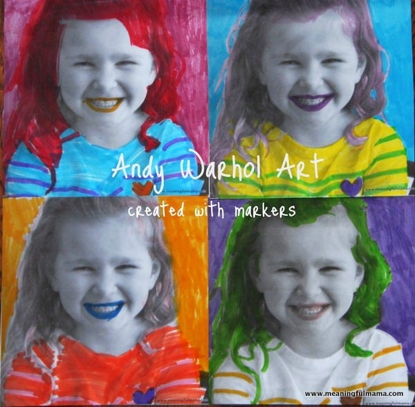 1-Andy-Warhol-Craft-for-Kids-