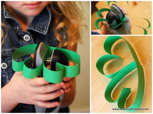 Simple Four Leaf Clover  Craft for St. Patrick's Day
