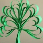 Four Leaf Clover Paper Craft