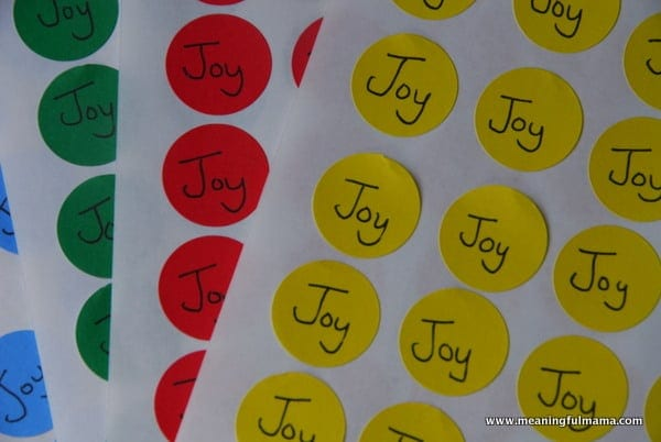Joy is Contagious Game for our Character Development Series