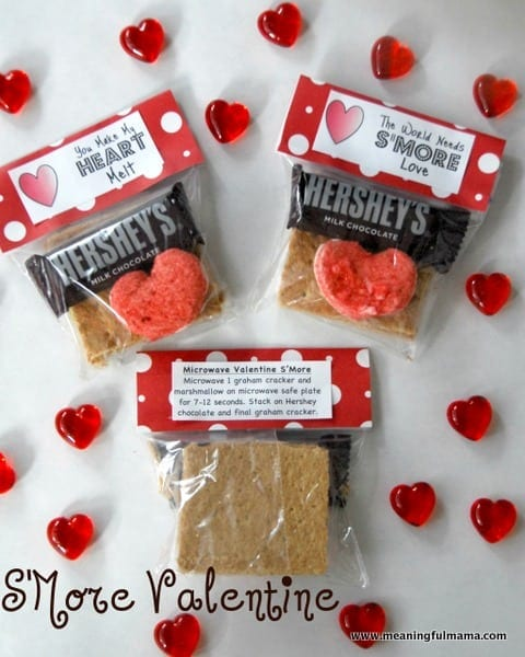 S'More Valentine with Printables