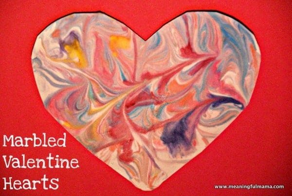 1-shaving-cream-marbled-Valentine-heart-craft-109