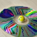 CD & Marble Forever Spinning Top