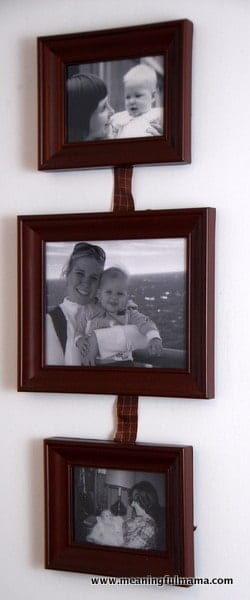 Thoughtful Picture Gift Idea for Baby Shower