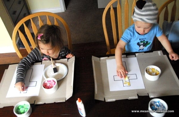 1-#cross #mosaic kids craft-020