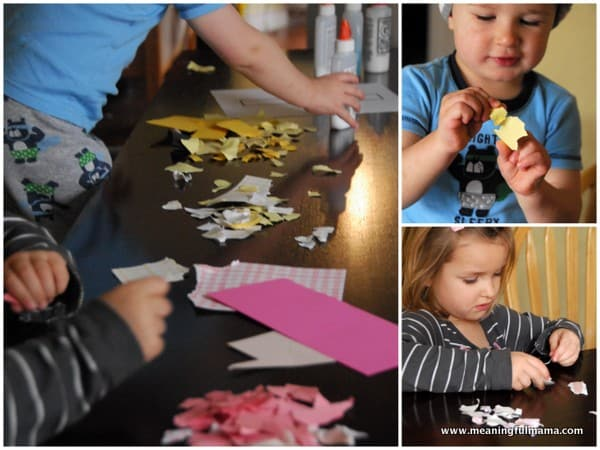 1-#cross #mosaic paper craft easter