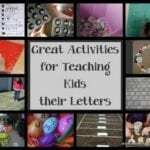 Great Activities for Teaching Kids to Really Know their Letters