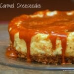 Salted Carmel Cheesecake