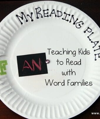 Teaching Children Reading through Word Families