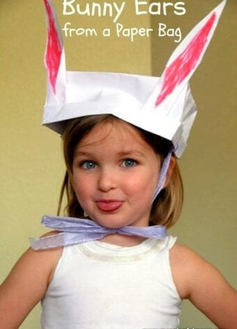 Bunny Ears out of a Paper Bag – Fun Easter Craft