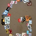 Making a Letter with Letters