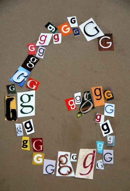 Make letter with letters