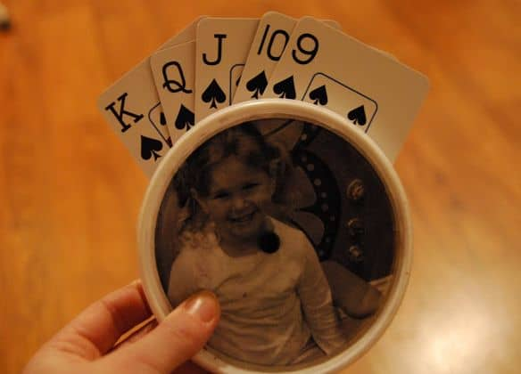 Playing Card custom Holder