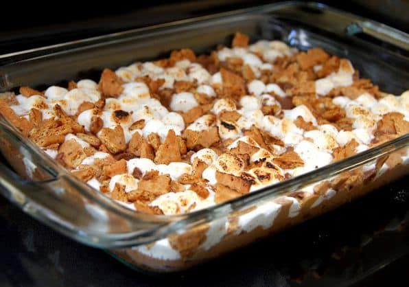 S'More cookie pan
