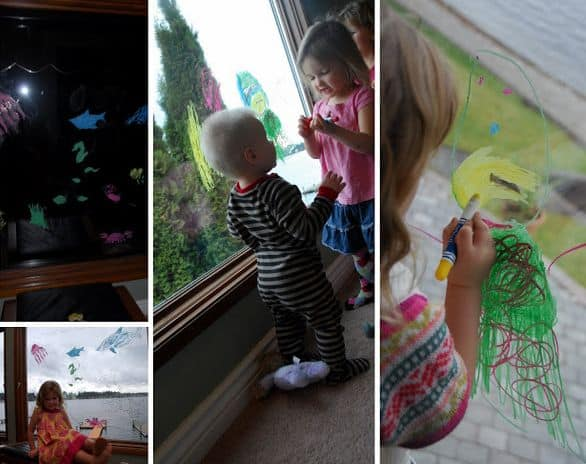 Window Art Collage