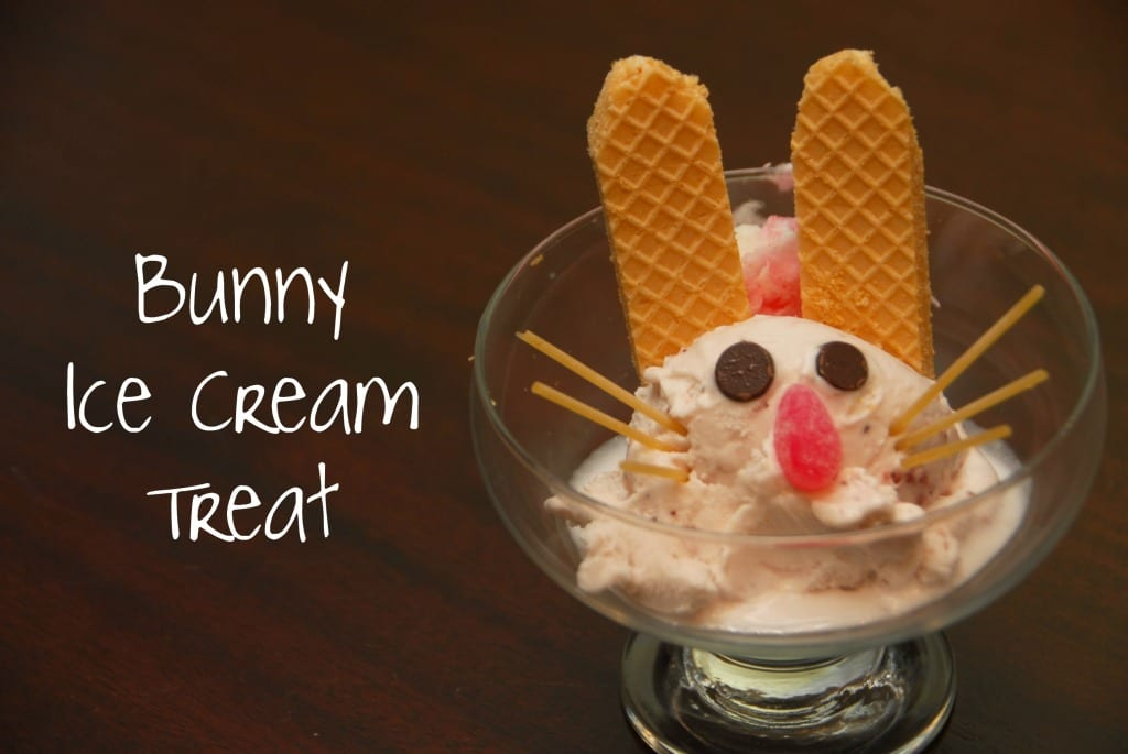 bunny ice cream treat