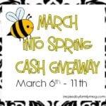 $110 Cash Spring Giveaway