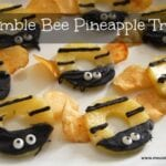 Bumble Bee Pineapple Treats – Spring Birthday Party