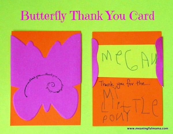 1-#butterfly #thank you #card-001