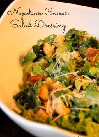 Napoleon Caesar Salad Dressing Recipe