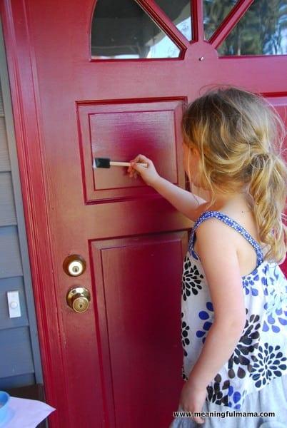 1-#clear chalkboard paint #door #projects-004