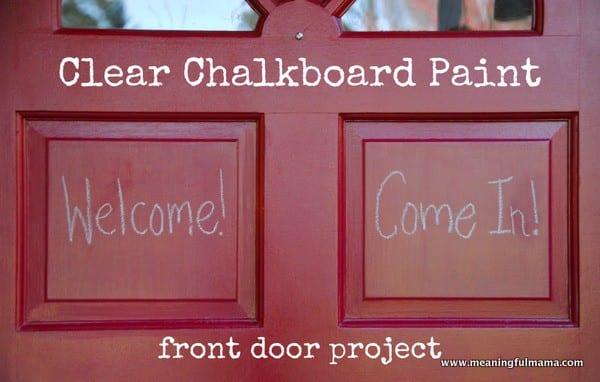 1-#clear chalkboard paint #door #projects-017