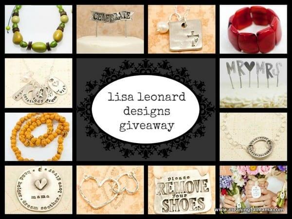1-lisa leonard design giveaway