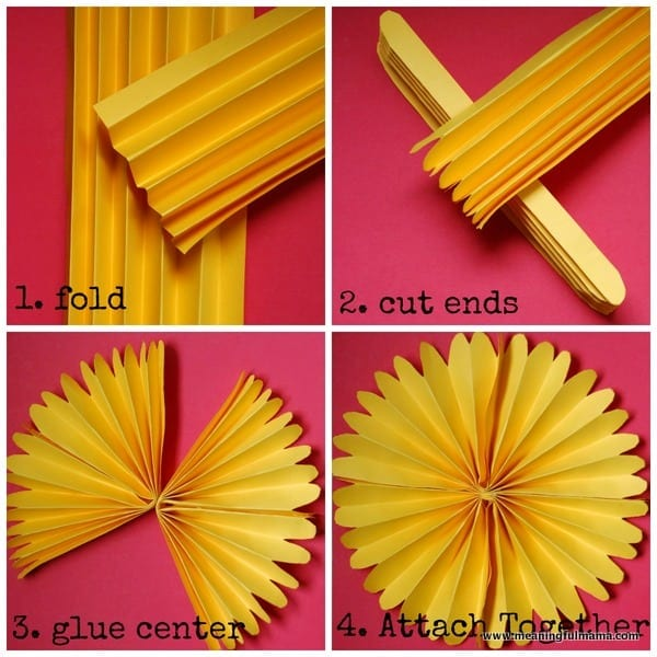 1-#paper flower #tutorial #pinwheel