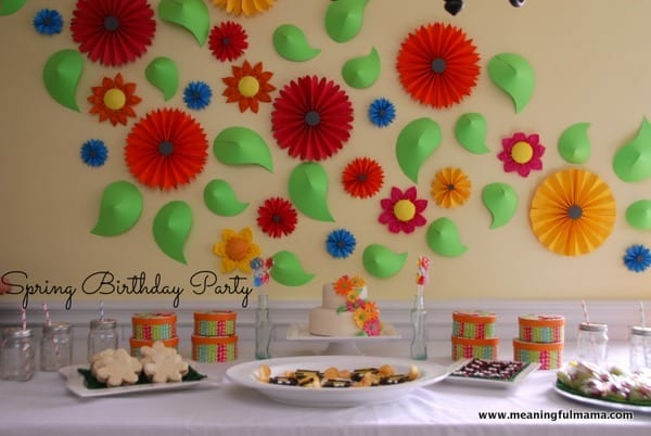 need inspiration for a spring birthday party here is the place to come to seek out decorations and food ideas we have been building up to it all week - Spring Party Decorating Ideas