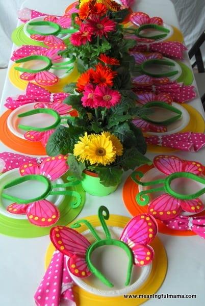 1 Spring Party Decorations Kenzie 4 Birthday 060 Meaningfulmama Com