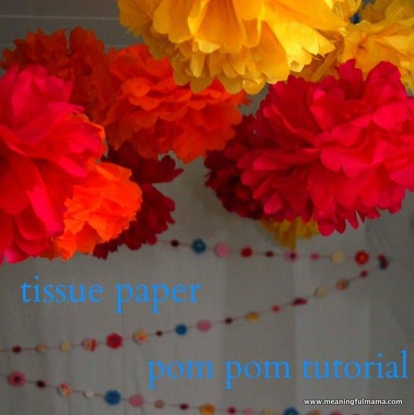 1-#tissue paper #pom poms #tutorial -001