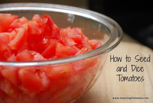 1-#tomato #seed #dice