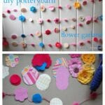 DIY Pottery Barn Kids Flower Garland