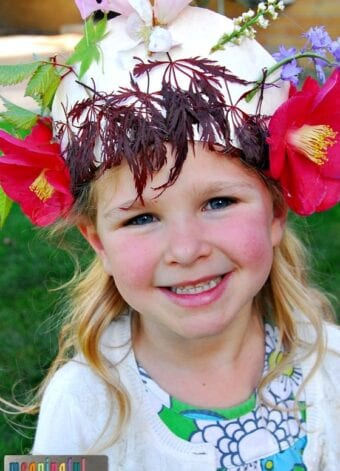 Teaching Courage Through Esther and a Nature Crown