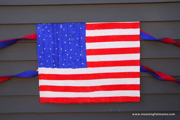 1-#american flag #craft-002