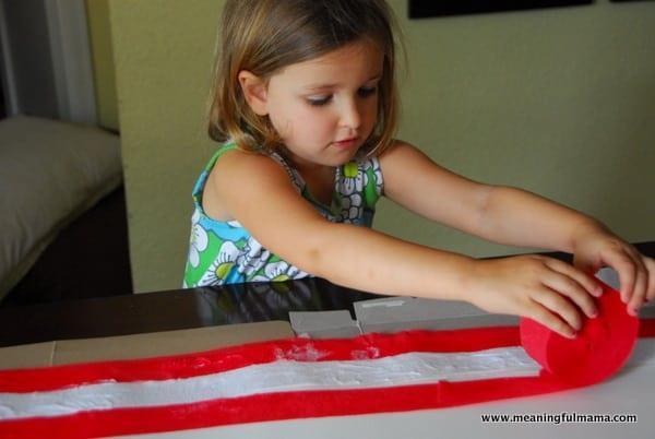 1-#american flag #craft-016