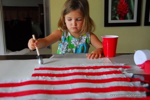 1-#american flag #craft-020
