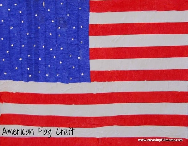 1-#american flag #craft-033