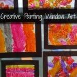 Creative Painting Window Art