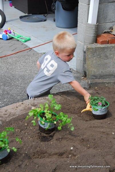1-#planting a garden #2013-001