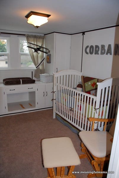 1-#boys room #nursery #airplane #decor-002